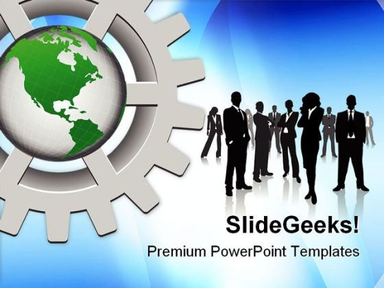 Business Concept Global PowerPoint Themes And PowerPoint Slides 0811