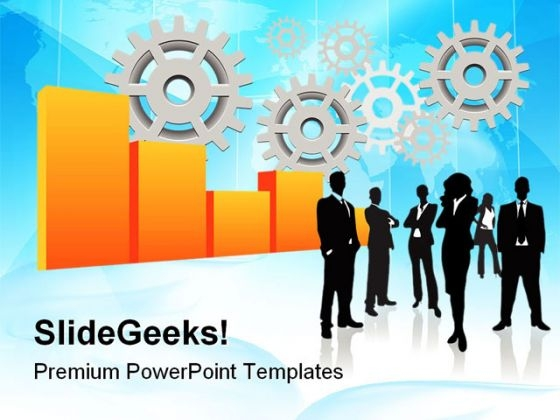 Business Concept Industrial PowerPoint Templates And PowerPoint Backgrounds 0511