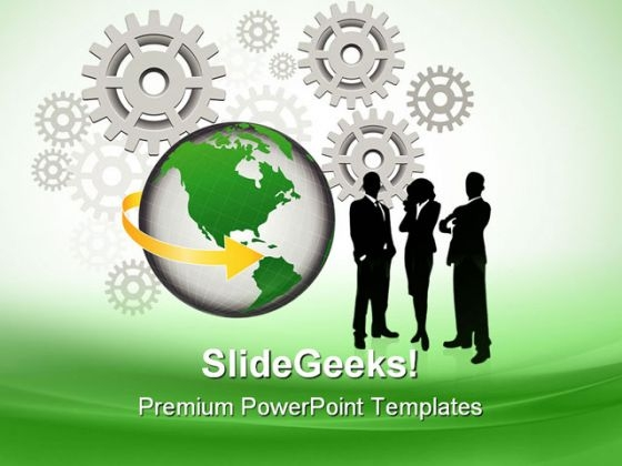 Business Concept Industrial PowerPoint Templates And PowerPoint Backgrounds 0711