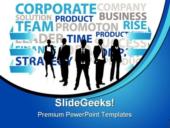 Business Concept People PowerPoint Template 0910