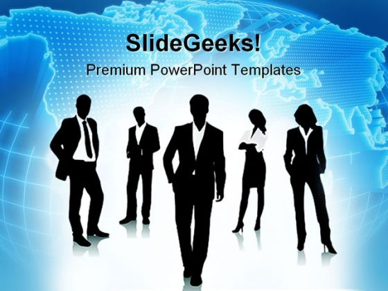 Business Concept People PowerPoint Templates And PowerPoint Backgrounds 0411