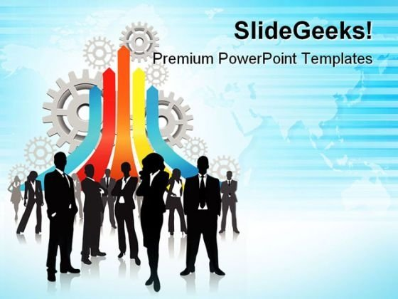 Business Concept Success PowerPoint Templates And PowerPoint Backgrounds 0711