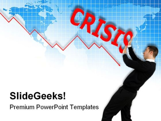 Business Crisis Global PowerPoint Templates And PowerPoint Backgrounds 0611