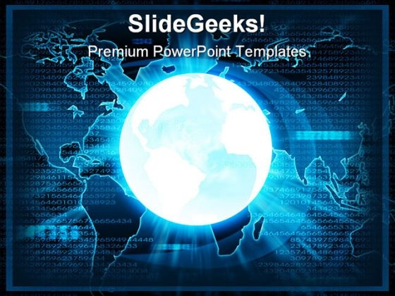 Business Global People PowerPoint Templates And PowerPoint Backgrounds 0411