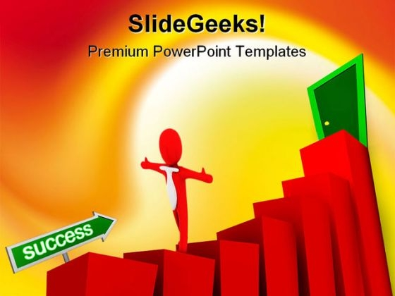Business Graph02 Success PowerPoint Templates And PowerPoint Backgrounds 0711