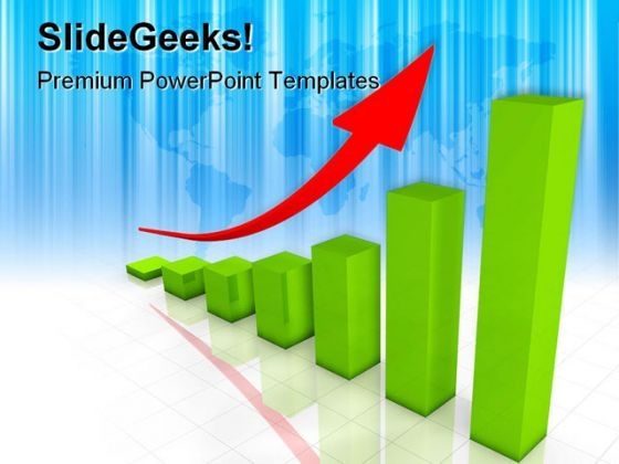 Business Graph Arrow Success PowerPoint Templates And PowerPoint Backgrounds 0511