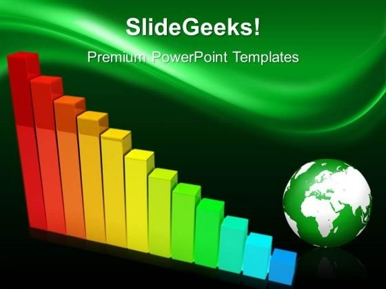 Business Graph Global PowerPoint Templates And PowerPoint Themes 0512