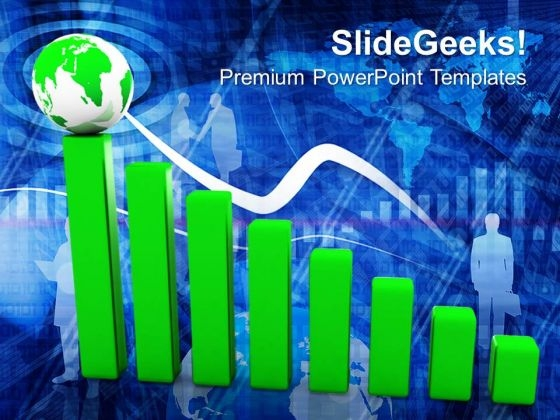 Business Graph PowerPoint Templates And PowerPoint Themes 1012