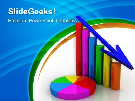 Business Graph Sales PowerPoint Templates And PowerPoint Themes 0512