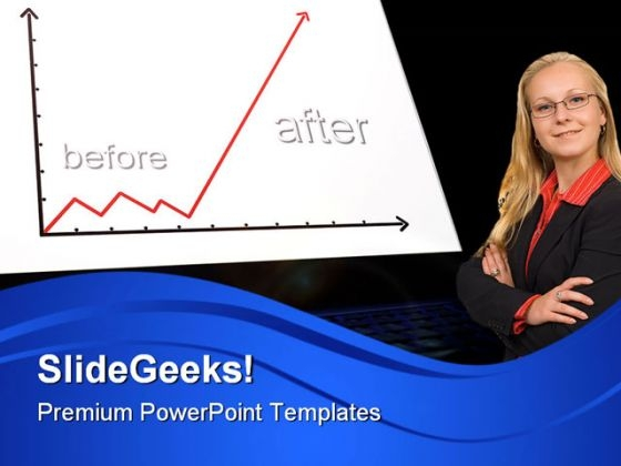 Business Graph Success PowerPoint Templates And PowerPoint Backgrounds 0711