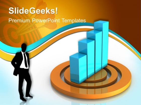 Business Graph Success PowerPoint Templates And PowerPoint Themes 0412