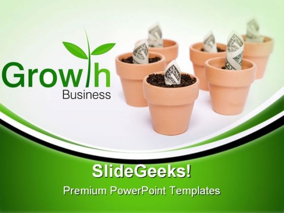 Business Growth Finance PowerPoint Themes And PowerPoint Slides 0711