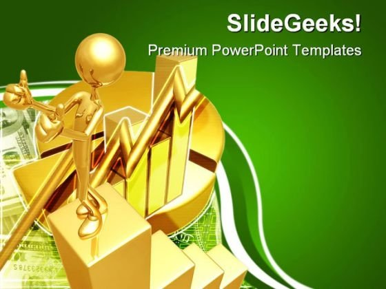 Business Growth Finance PowerPoint Themes And PowerPoint Slides 0811