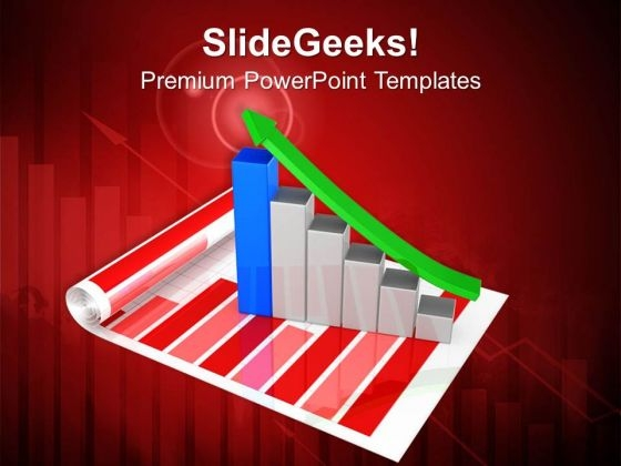 Business Growth Graph PowerPoint Templates Ppt Backgrounds For Slides 0413