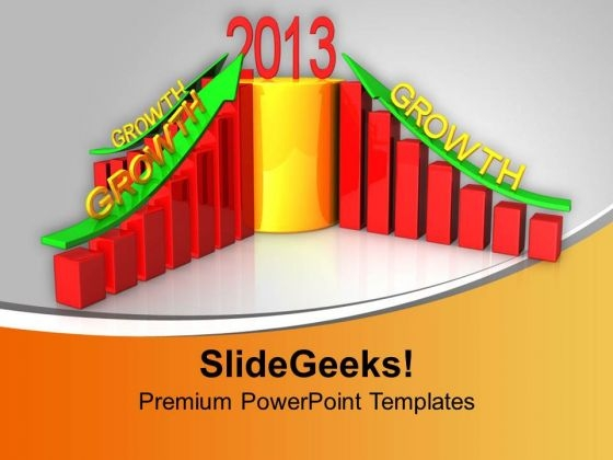 business growth in new year powerpoint templates ppt backgrounds for slides 0113 powerpoint themes