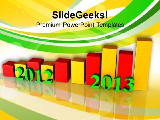 Business Growth Per Year Success PowerPoint Templates Ppt Backgrounds For Slides 1212