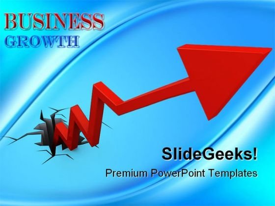 Business Growth Success PowerPoint Templates And PowerPoint Backgrounds 0511