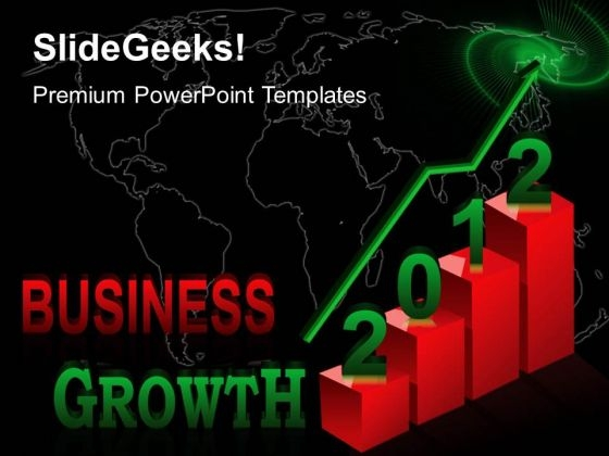 Business Growth Success PowerPoint Templates And PowerPoint Themes 0412
