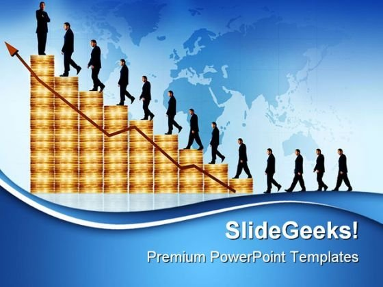 Business Growth Success PowerPoint Themes And PowerPoint Slides 0611