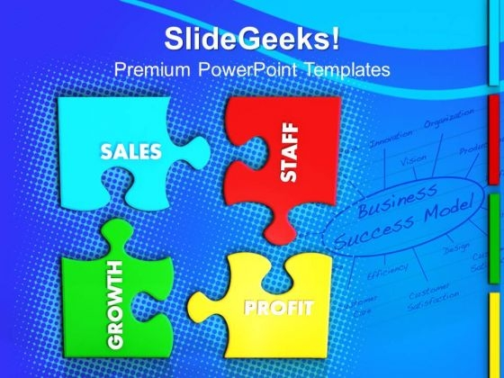 Business Jigsaw Puzzles PowerPoint Templates And PowerPoint Themes 1012
