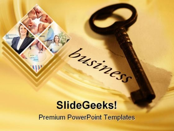 Business Key Collage Business PowerPoint Templates And PowerPoint Backgrounds 0311