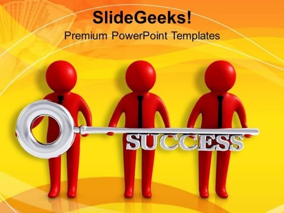 Business Key Is Important PowerPoint Templates Ppt Backgrounds For Slides 0713
