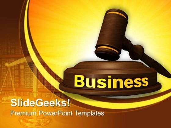 Business Law PowerPoint Templates And PowerPoint Themes 0812