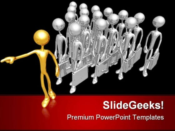 Business Leader Leadership PowerPoint Templates And PowerPoint Backgrounds 0611
