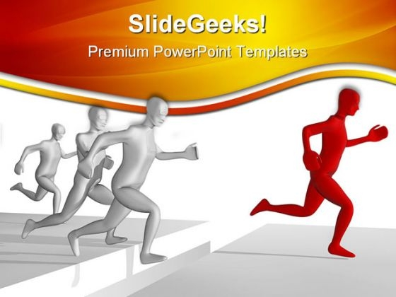Business Leader Leadership PowerPoint Themes And PowerPoint Slides 0711
