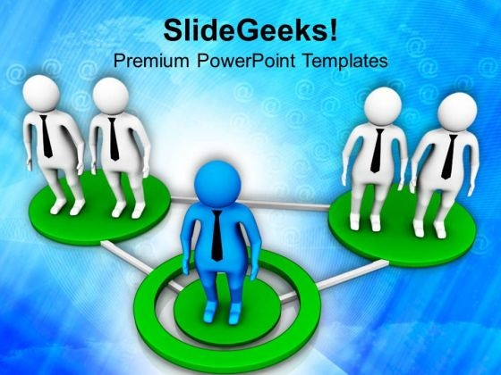 Business Network PowerPoint Templates Ppt Backgrounds For Slides 0813