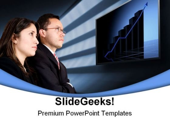 Business Partners Metaphor PowerPoint Background And Template 1210