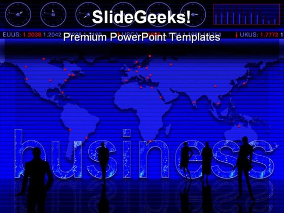 Business People Global PowerPoint Themes And PowerPoint Slides 0511