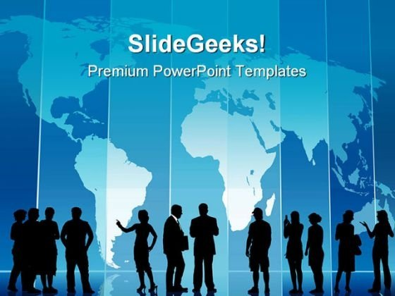 Business People Global PowerPoint Themes And PowerPoint Slides 0711