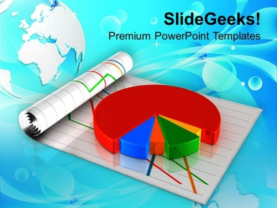 Business Pie Chart Marketing PowerPoint Templates Ppt Backgrounds For Slides 0513
