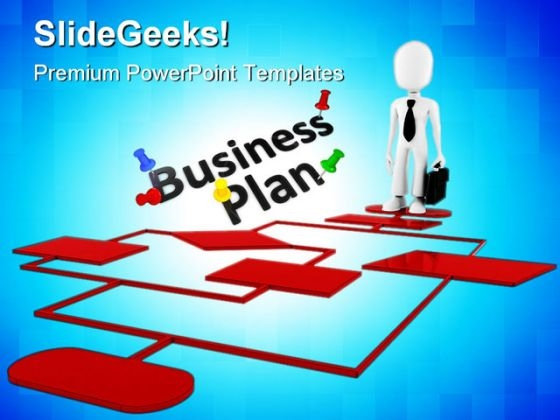 Business Plan Chart Metaphor PowerPoint Themes And PowerPoint Slides 0311