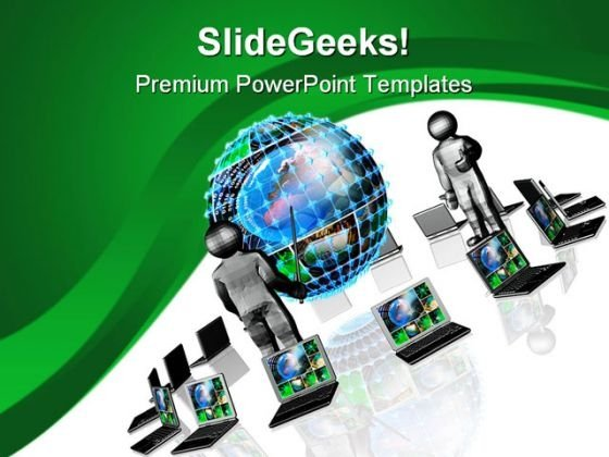 Business Presentation Global PowerPoint Templates And PowerPoint Backgrounds 0811