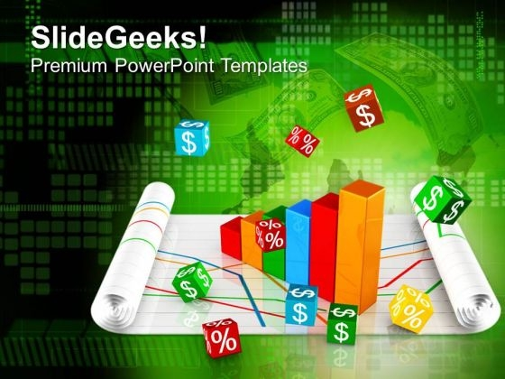 Business Profit Chart PowerPoint Templates Ppt Backgrounds For Slides 0413