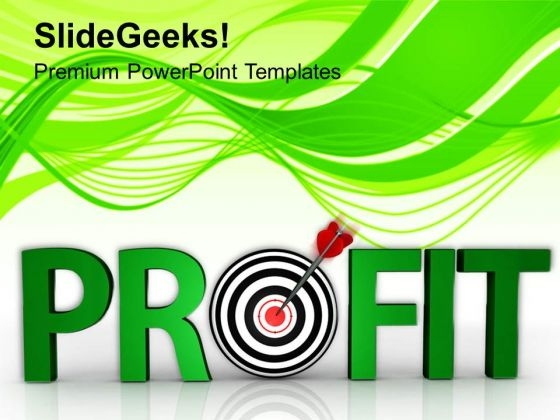 Business Profit In Development PowerPoint Templates Ppt Backgrounds For Slides 0513