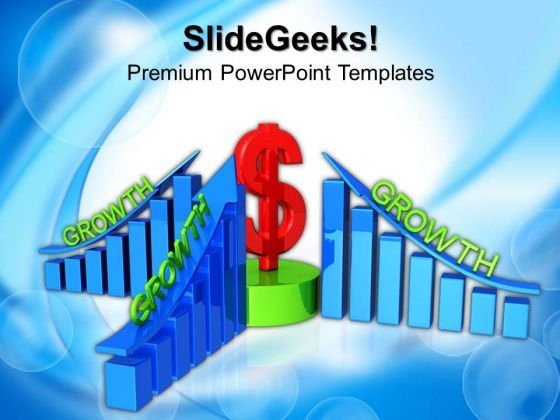 Business Profits Growth PowerPoint Templates And PowerPoint Themes 1012