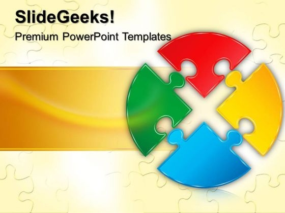 Puzzle Circle Powerpoint Templates Slides And Graphics