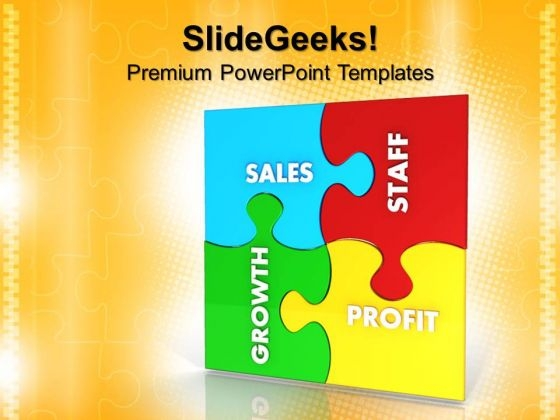 Business Puzzle Or Jigsaws PowerPoint Templates And PowerPoint Themes 0612