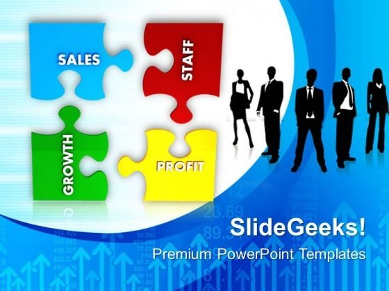 Business Puzzle Success PowerPoint Templates And PowerPoint Themes 0712
