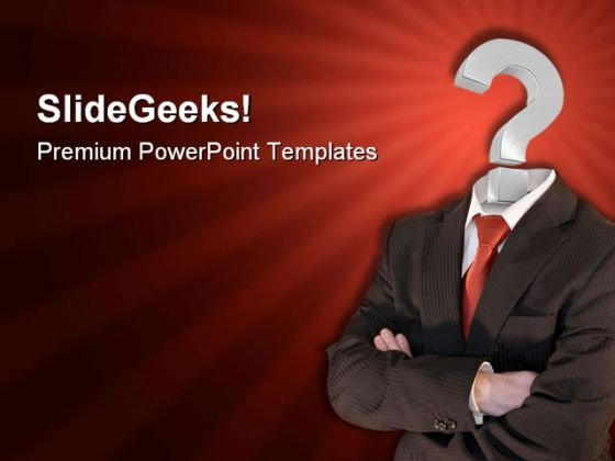 Business Questions01 Metaphor PowerPoint Templates And PowerPoint Backgrounds 0511