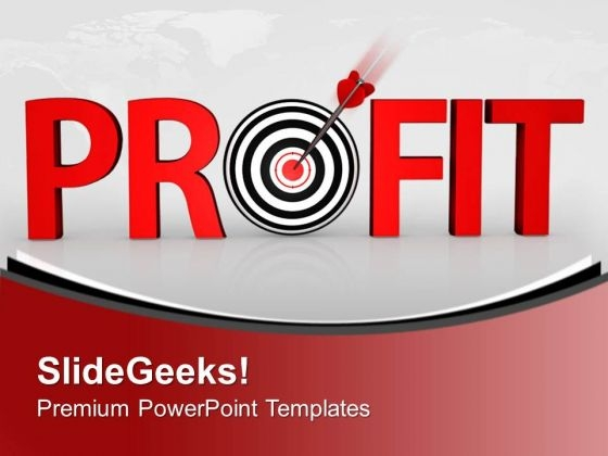 Business Requires Profit PowerPoint Templates Ppt Backgrounds For Slides 0413