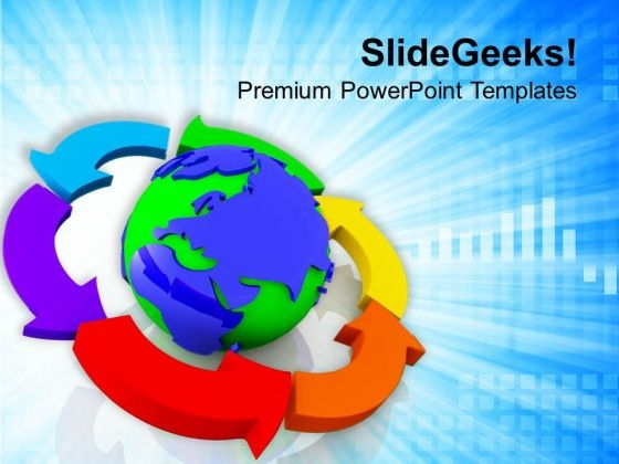 Business Revolves Around Global Policies PowerPoint Templates Ppt Backgrounds For Slides 0813