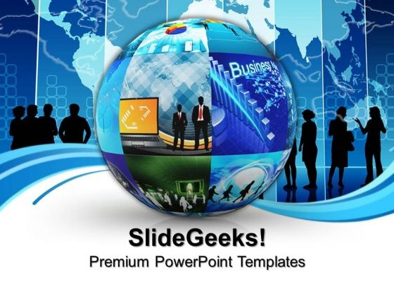 Business School Success PowerPoint Templates And PowerPoint Themes 0812