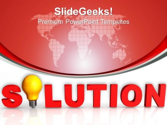 Business Solution PowerPoint Templates And PowerPoint Themes 1012