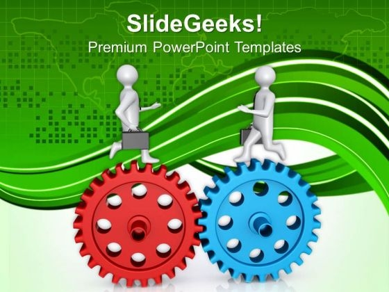 Business Strategy To Follow Right Gear Process PowerPoint Templates Ppt Backgrounds For Slides 0713