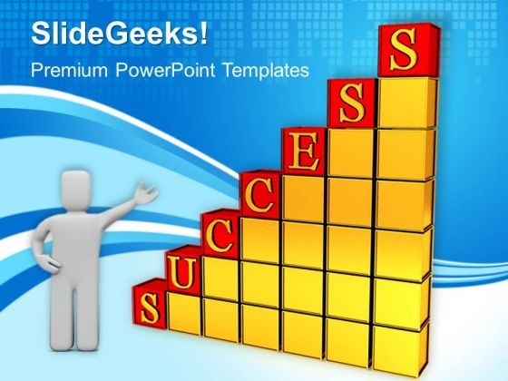 Business Success Graph PowerPoint Templates And PowerPoint Themes 1012