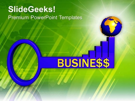 Business Success Key Global Strategy PowerPoint Templates Ppt Backgrounds For Slides 0413